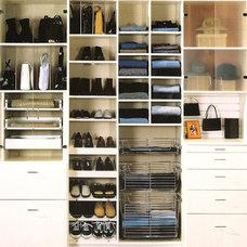 Contemporary Closet by Diane DiTucci, Space Designer
