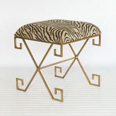 Eclectic Vanity Stools And Benches by Worlds Away