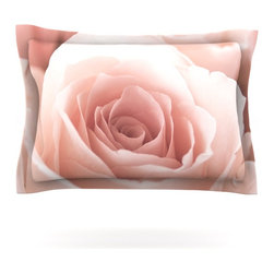 "Kess InHouse - Bree Madden ""Roses"" Pillow Sham (Cotton, 30"" x 20"") - Pairing your already chic duvet cover with playful pillow shams is the perfect way to tie your bedroom together. There are endless possibilities to feed your artistic palette with these imaginative pillow shams. It will looks so elegant you won't want ruin the masterpiece you have created when you go to bed. Not only are these pillow shams nice to look at they are also made from a high quality cotton blend. They are so soft that they will elevate your sleep up to level that is beyond Cloud 9. We always print our goods with the highest quality printing process in order to maintain the integrity of the art that you are adeptly displaying. This means that you won't have to worry about your art fading or your sham loosing it's freshness."