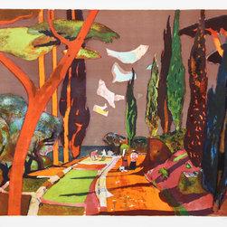 Millard Owen Sheets, Field, Lithograph - Artist:  Millard Owen Sheets, American (1907 - 1989)