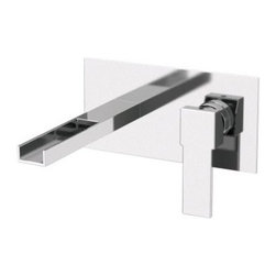 Remer by Nameeks QC15US Wall Mount Bathroom Faucet - The distinctively designed Remer by Nameeks QC15US Wall Mount Bathroom Faucet is as interesting as it is functional. Its cutting edge compact body mounts flush to the wall where the only pronounced features from the chrome finished brass plate are the side-by-side lever handle and waterfall spout. It's an eye-catching look that embodies everything that the Qubika Cascade Collection hoped to achieve. The decorative spout is totally open allowing water to flow out naturally for a more luxurious washing experience and a visual presentation that is nothing short of unforgettable. The Remer by Nameeks QC15US Bathroom Sink Faucet is made in Italy and backed by the manufactuerer's guarantee for dripfree performance and long-lasting durability. Product Specifications Mount Type: Wall Mount Handle Style: Lever Valve Type: Ceramic Flow Rate (GPM): 2 Spout Reach: 7.48 in. About NameeksFounded with the simple belief that the bath is the defining room of a household Nameeks strives to create a bath that shines with unique and creative qualities. Distributing only the finest European bathroom fixtures Nameeks is a leading designer developer and marketer of innovative home products. In cooperation with top European manufacturers their choice of designs has become extremely diversified. Their experience in the plumbing industry spans 30 years and is now distributing their products throughout the world today. Dedicated to providing new trends and innovative bathroom products they offer their customers with long-term value in every product they purchase. In search of excellence Nameeks will always be interested in two things: the quality of each product and the service provided to each customer.