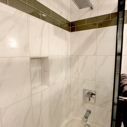 Shop Accent Tile In Shower Showers on Houzz