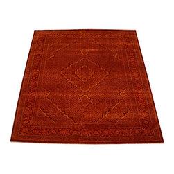 1800GetARug - Modern Oriental Rug Hand Knotted Rug Wool and Silk Mahi Sh10306 - About Fine Oriental