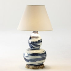 Eclectic Table Lamps by Bunny Williams