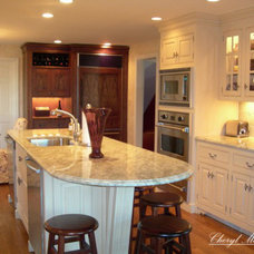 Traditional Kitchen by Cheryl McCracken Interiors,Inc