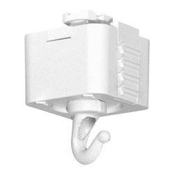 Juno Lighting - Juno T32 Track Planter or Utility Hook, T32wh - Planter or utility hook for use with Juno track systems