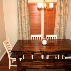 Craftsman Dining Room by James and James Furniture