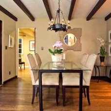 Traditional Dining Room by Coast Construction Company