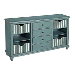 Coast To Coast - 4 Drawer Credenza - 56436 - 4 Drawer Credenza