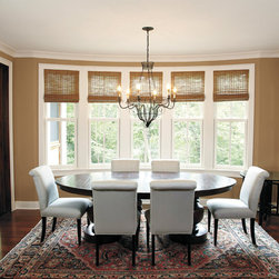 Windows - The dining room will become your haven when these windows are installed into your home. Add to your ideabook if you like these windows as a part of this dining room. | Baltimore, MD | Clearview Window & Door Company