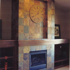 Craftsman Family Room by R Henry Construction Inc.