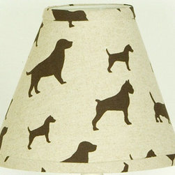 """Cotton Tale Designs - Houndstooth Lamp Shade - A quality baby bedding set is essential in making your nursery warm and inviting. All N. Selby patterns are made using the finest quality materials and are uniquely designed to create an elegant and sophisticated nursery. Shade in pup fabric measure 8"""" x 9"""" x 4"""". Spot clean only. Perfect for a boy or girl.;Dimensions: 4""""L x 9""""W x 8""""H"""