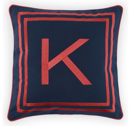 Contemporary Pillows by C. Wonder