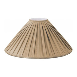 Royal Designs, Inc. - Pleated Coolie Designer Lampshade - This Pleated Coolie Designer Lampshade is a part of Royal Designs, Inc. Timeless Designer Shade Collection and is perfect for anyone who is looking for an elegant yet detailed lampshade. Royal Designs has been in the lampshade business since 1993 with their multiple shade lines that exemplify handcrafted quality and value.