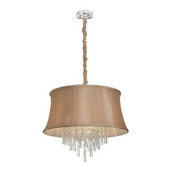 Dainolite - Dainolite JUL226-PC-138 Julia 6 Light Chandelier - Features: