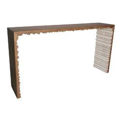 NOIR - NOIR Furniture - Nelson Console - GCON160 - Features: