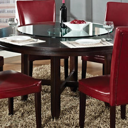 Steve Silver Hartford 62 Inch Round Dining Table -