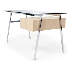 Homework Desk Viesso - To me, this desk is too sleek for homework. Instead, I'd use it for grownup stuff like paying the bills, writing correspondence and reenacting scenes from The Apprentice. Wait, that's not grownup behavior?