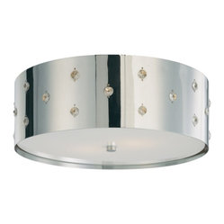 Bling Bling 2-Light Flush Mount