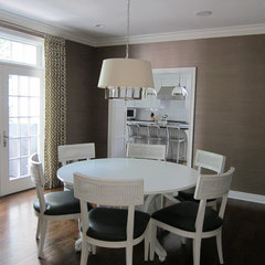 contemporary dining room by Uma Stewart Interiors &amp; Lifestyle Design