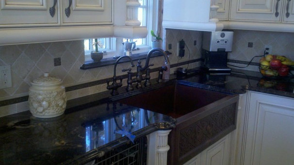 Traditional Kitchen by Siena Marble & Tile