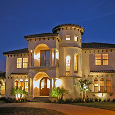Mediterranean Exterior by Dove Builders of Central FL Inc.