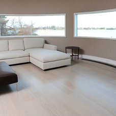 Contemporary Hardwood Flooring by Woodwrights Wide Plank Flooring