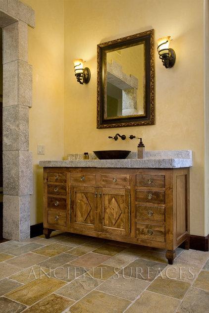 Mediterranean Bathroom Tile by Ancient Surfaces