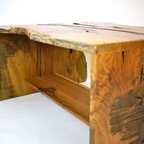 SuperNatural Oak Desk #1 - This was our first desk we made from the Barton Hall project.