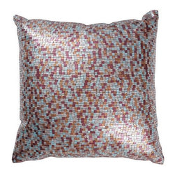 Rizzy Home - Multi and Aqua Decorative Accent Pillows (Set of 2) - T02988 - Set of 2 Pillows.
