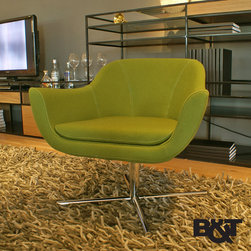 B&T Green Lounge Chair - B&T Green Lounge Chair