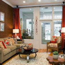 Contemporary Family Room by Morgan House Design Center