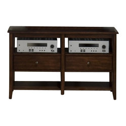 Jofran - Jofran Newport 48 Inch Media Unit - The simplicity and elegance, style and practicality ...