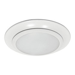 """Sea Gull Lighting - Sea Gull Lighting 14600S-15 Traverse 6"""" LED 3000K Retrofit Recessed Light - Traverse LED Downlight delivers the performance of incandescent downlights while reducing energy and operating cost by 80% and requiring virtually no maintenance. Ideal for general lighting in residential and commercial applications, the damp rated Traverse can be used for shower applications as well. The Traverse LED downlight is also an excellent alternative to costly fire rated recessed housings."""