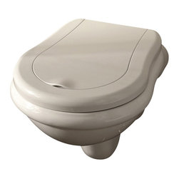 WS Bath Collections - WS Bath Collections Retro Wall Hung Toilet in Ceramic White - This is no commonplace commode. This toilet, understated but elegantly crafted, is the definition of class. Designed by Massimiliano Cicconi, there's a new contemporary porcelain god in town.