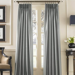 Marquee Shimmering Faux Silk Pinch Pleat Drape