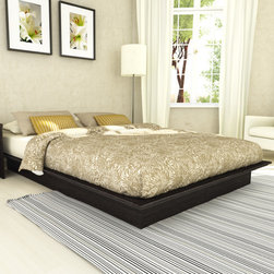 "dCOR design - Plateau Platform Bed - Invite modern style into your bedroom with this contemporary bed from the Plateau Bed Collection by Sonax. Features: -Contemporary style.-No box spring required.-Powder Coated Finish: No.-Gloss Finish: No.-Frame Material: Engineered wood.-Solid Wood Construction: No.-Upholstered: No.-Hardware Material: Metal.-Non Toxic: No.-Scratch Resistant: No.-Mattress Included: No.-Box Spring Required: No.-Headboard Storage: No.-Footboard Storage: No.-Underbed Storage: No.-Slats Required: Yes -Slats Included: Yes..-Center Support Legs: No.-Adjustable Footboard Height: No.-Wingback: No.-Trundle Bed Included: No.-Attached Nightstand: No.-Cable Management: No.-Built in Outlets: No.-Lighted Headboard: No.-Reclaimed Wood: No.-Distressed: No.-Bed Rails Included: No.-Collection: Plateau.-Recycled Content: No.-Wood Moldings: No.-Canopy Frame: No.-Hidden Storage: No.-Jewelry Compartment: No.-Swatch Available: Yes.-Commercial Use: No.-Product Care: No.Specifications: -FSC Certified: No.-EPP Compliant: No.-CPSIA or CPSC Compliant: No.-CARB Compliant: Yes.-JPMA Certified: No.-ASTM Certified: No.-ISTA 3A Certified: No.-PEFC Certified: No.-General Conformity Certificate: No.-Green Guard Certified: No.Dimensions: -Overall Height - Top to Bottom (Size: Full): 8"".-Overall Height - Top to Bottom (Size: Queen): 8"".-Overall Width - Side to Side (Size: Full): 58"".-Overall Width - Side to Side (Size: Queen): 65"".-Overall Depth - Front to Back (Size: Full): 76.5"".-Overall Depth - Front to Back (Size: Queen): 82.5"".-Overall Product Weight (Size: Full): 111 lbs.-Overall Product Weight (Size: Queen): 140 lbs.Assembly: -Assembly Required: Yes.-Tools Needed: Screwdriver.-Additional Parts Required: No.Warranty: -Product Warranty: 1 Year."