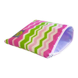 Snack Happened Reusable Snack Bag, Little Miss Zig Zag - This is not only is darling, but eco-friendly as well. I would use this pouch for any child to take a snack on the go.