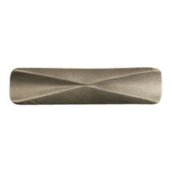 Anne at Home Hardware - Confluence Pull (Lw 1011), Antique Bronze - Made in the USA - Anne at Home customized cabinet hardware enables even the most discriminating homeowner to achieve the look of their dreams.  Because Anne at Home cabinet hardware is designed to meet your preferences, it may take up to 3-4 weeks to arrive at your door. But don't let that stop you - having customized Anne at Home cabinet knobs and pulls are well worth the wait!   - Available in many finishes.