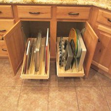 Traditional Kitchen Drawer Organizers by Slide Out Shelves LLC