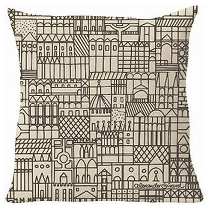 Modern Decorative Pillows by YLiving.com