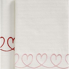 Eclectic Dish Towels by Crate&Barrel