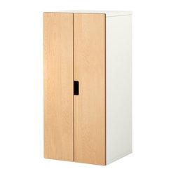 Ebba Strandmark/IKEA of Sweden - STUVA Storage combination with doors - Storage combination with doors, white, birch