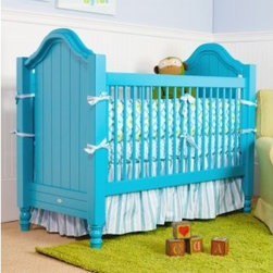Cape Cod Beadboard Crib - Some assembly is required.
