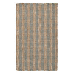 Surya - Hand Woven Country Jutes Rug CTJ-2019 - 5' x 8' - Another inspired ensemble from Country Living, the Country Jutes Collection exemplifies the essence of casual style. Hand-woven from all natural jute in monochromatic shades of beige, each rug combines fibers to create a variety of patterns that exude a simple elegance ideal for traditional to transitional interiors.