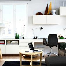 Modern  Ikea home office