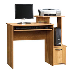 Sauder - Sauder Beginnings Computer Desk in Highland Oak Finish - Sauder - Computer Desks - 414163