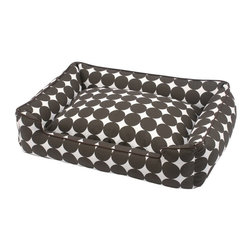 Jax & Bones - Jax & Bones Everyday Cotton Lounge Bed Speckle Medium - Our eco-friendly Jax and Bones everyday cotton lounge beds will give your dog the highest quality and most comfortable lounge beds ever to exist. These beds come with removable inserts and zippers which help to maintain and take care them easily. They are made from fabrics which are light to medium weight and come in a variety of fun colors.    100% Machine Washable and Certified Eco-Friendly!