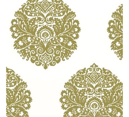 eclectic wallpaper by Brocade Home
