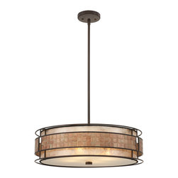 Quoizel - Quoizel MC8420CRC Laguna 4 Light Pendants in Renaissance Copper - This 4 light Pendant from the Laguna collection by Quoizel will enhance your home with a perfect mix of form and function. The features include a Renaissance Copper finish applied by experts. This item qualifies for free shipping!
